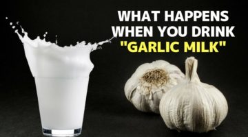 What Happens When You Drink Garlic Milk Everyday